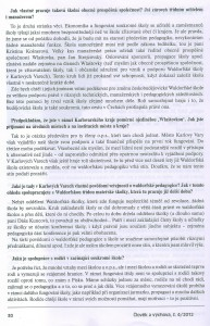 Člověk a výchova 4/2012 - 2